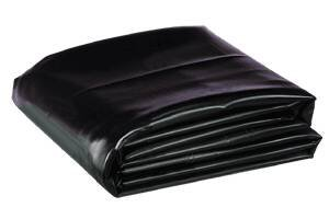 Firestone W56PL452020 EPDM Rubber Pre Cut and Boxed Pond Liner, Black, 20-Foot length x 20-Foot Width x 0.045-Inch Thick by Firestone