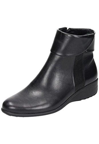 1 Damen Schwarz 990974 Schwarz Stiefel Comfortabel TqfvO