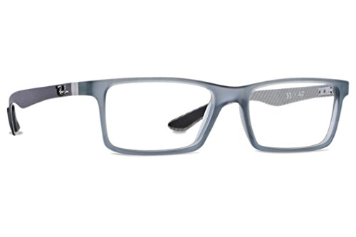 Ray-Ban Men s RX8901 Eyeglasses Demi Gloss Grey 55mm - Buy Online in KSA.  Eyewear products in Saudi Arabia. See Prices, Reviews and Free Delivery in  Riyadh, ... 975ace2b1f