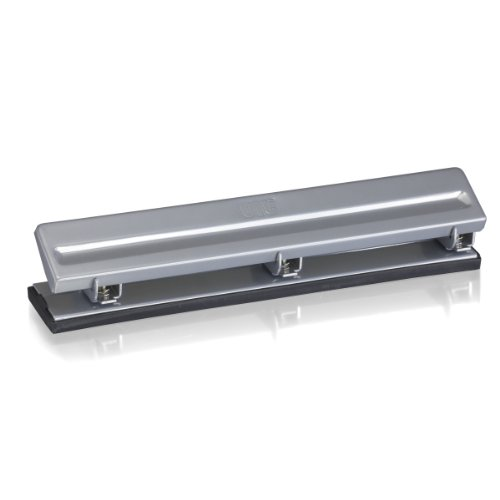 Capacity Three Hole Punch (Officemate Economy 3 Hole Punch, 8 Sheet Capacity, Silver (90087))