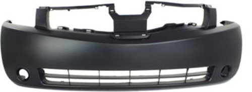 Crash Parts Plus Primed Front Bumper Cover Replacement for 2004-2006 Nissan Quest