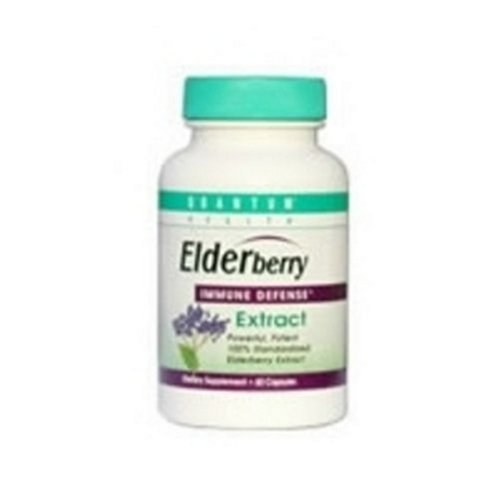 Cheap Quantum Health, Elderberry Extract Capsule,  60-Count Packages (Pack of 3)