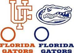 Florida Gators Cornhole Decals - 6 Cornhole Decals - 2 Free Window Decals - Free Window Decals