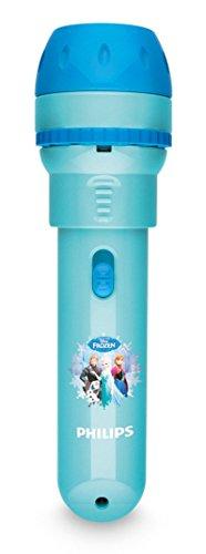 Philips Disney Frozen (Die Eiskönigin) LED Taschenlampe mit Projektor, hellblau, 717880816