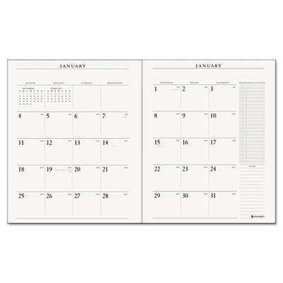AT-A-GLANCE 2014 Executive Monthly Padfolio Refill for 70-290 (70-909-10)
