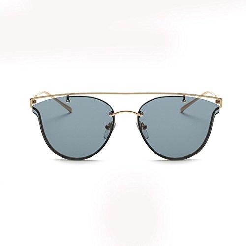 Moda Clásico Gafas sol Las Gafas sol de Tono Negro de Espejo Marco Mujeres Metal VENMO Ojo Gato gwZqxTR4f