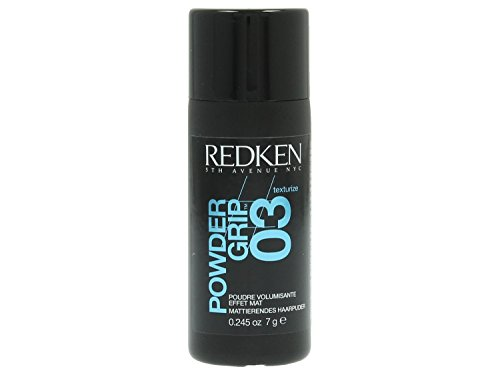 Redken Powder Grip 03 Mattifying Hair Powder for Unisex, 0.245 Ounce