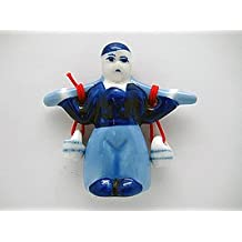 Dutch Gift Magnet Delft Boy with Buckets