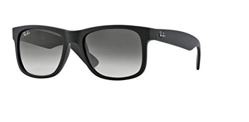 Ray Ban RB4165 601/8G 51M Rubber Black/Grey - Ray 51mm Ban