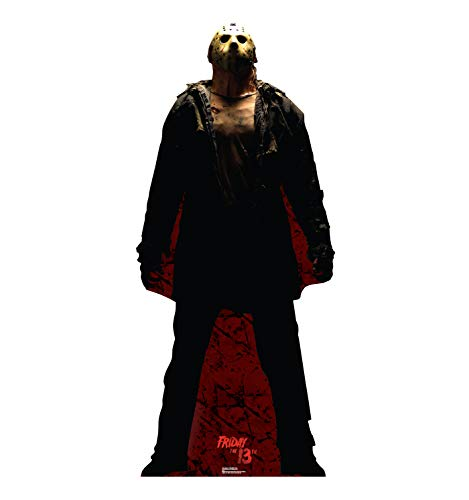 Advanced Graphics Jason Voorhees Dark Life Size Cardboard Cutout Standup - Friday the 13th (2009 Film) by Advanced Graphics