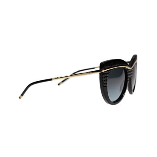 f1deb5c2c04 80%OFF Boucheron Sunglasses BC0004S 001 Black with Grey Lens Cat Eye 52mm  Authentic
