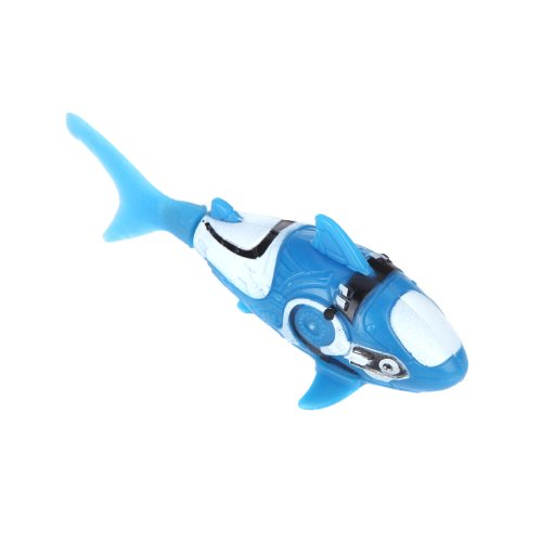 KINGZER Shark Pattern Water Activated Electronic Lifelike Swimming Fish Kids Toy Blue from KINGZER