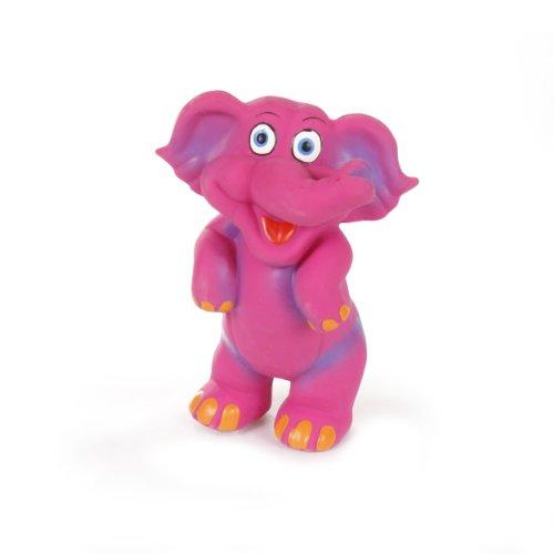 Knight Pet Latex Elephant Toy, Small