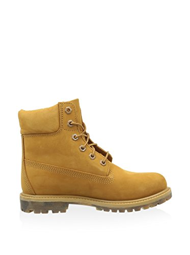 Timberland 6IN PREMIUM Boot–W Wheat, botas Track Mujer Mostaza