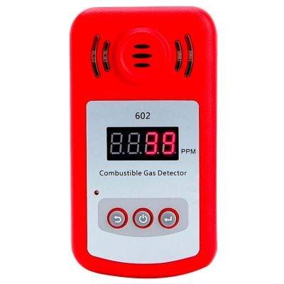 RanDal Pantalla Digital Detector De Gas Combustible - Rojo