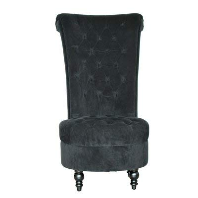 Stupendous Amazon Com Velvet Accent Chair With Tufted Cushions High Bralicious Painted Fabric Chair Ideas Braliciousco