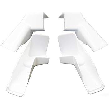 Amazon Com Jr Products 655 Pw A Polar White Rigid