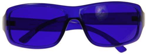 Kid's Children's Junior Color Therapy Glasses - Indigo