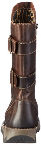 FLY London Sack785fly, Botas Biker para Mujer Marrón (Dk. Brown)