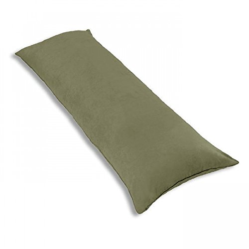 12 X 18 Inches Faux Suede Lumbar Throw Pillow, Rectangular C