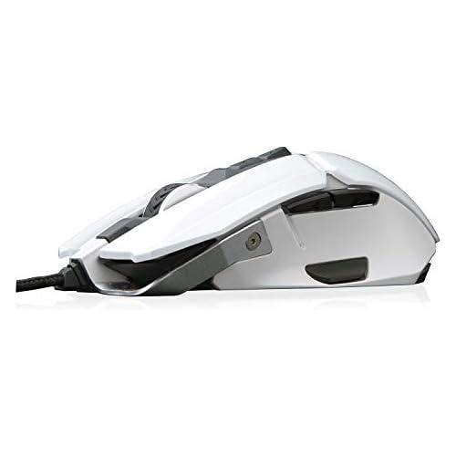 chollos oferta descuentos barato Riotoro MR 800XPW Ratón para Gaming Color Blanco