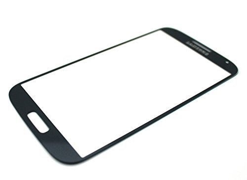 New OEM Front Touch Screen Outer Panel Glass Lens Replacement for Samsung Galaxy S4 IV GT-i9500 i9505 i337/AT&T M919/T-Mobile SCH-i545/Verizon SPH-L720/Sprint SCH-R970/US Cellular (OEM Pebble Blue)