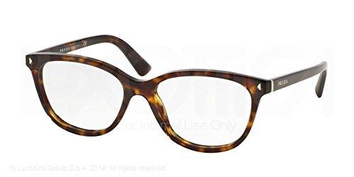 Prada Montures de lunettes 14R Pour Femme Black, 52mm 2AU-1O1: Tortoise