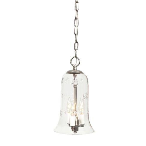 Small Bell Jar Pendant Lights - 7