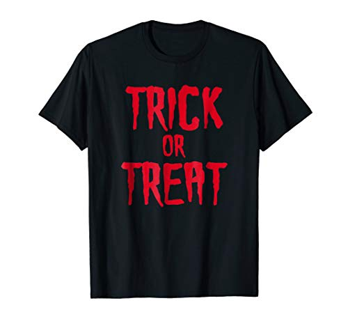 Trick or Treat Spooky Halloween T-Shirt -