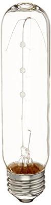 Sylvania 18491 25-Watt Clear Tubular Incandescent T10 Bulb