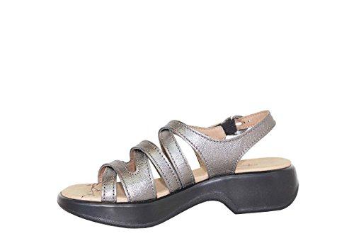 Dromedaris Womens Golden Eagle Sandal Peltro