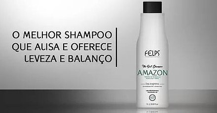 Felps Amazon The Best Shampoo Smooth Intense Hair 1000ml by Felps (Image #4)