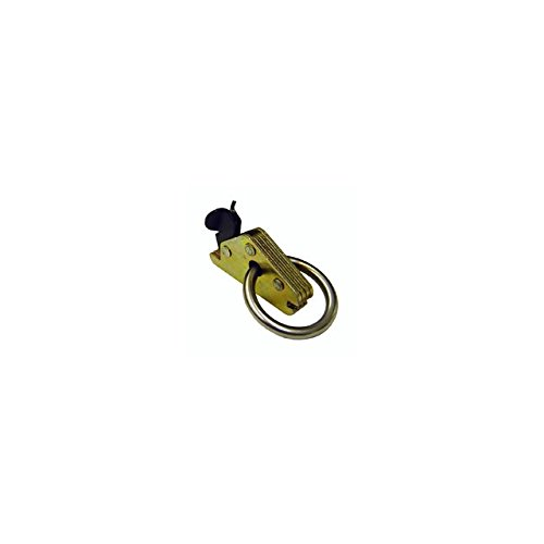 2'' Articulated Spring E-Track Fitting with Heavy Duty Round Ring (Break Strength: 6,000 lbs) - 10 Pack by Us Cargo Control (Image #4)