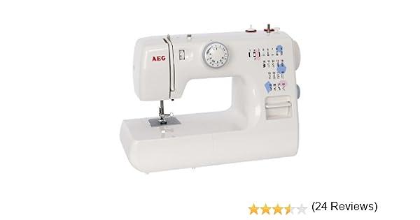 AEG 376S - Máquina de coser, 26 programas, 85 W: Amazon.es: Hogar
