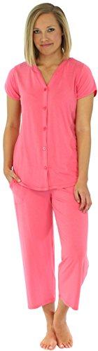 PajamaMania Womens Lightweight Summer Sleeve