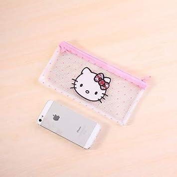 Bureze Creative Kawaii Cute Hello Kitty - Estuche para ...