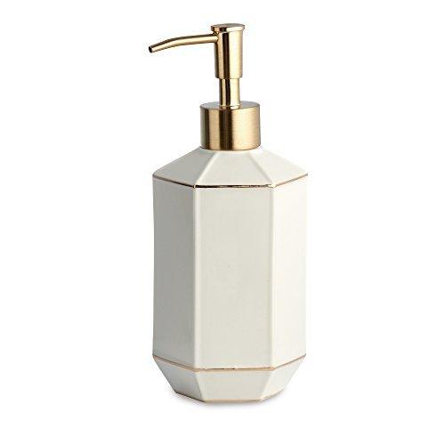 Lotion Dispenser, Kassatex St. Honore Bath Accessories   Porcelain