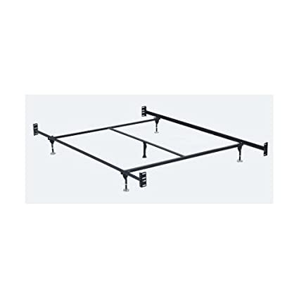 Amazon.com: Hollywood Bed Frames Bed Frame with Headboard/Footboard ...