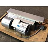First Company 4HBC-41 LH/450441L 1 TON Horizontal Chilled/HOT Water UNCASED Ceiling Concealed Fan Coil/W 4 Pipes, 120/60/1 CFM:400