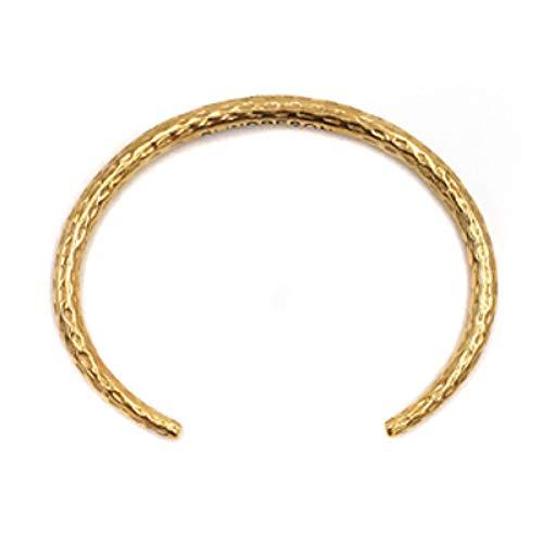 SZDM Bracelet Titanium Steel Men Bracelets Pattern Round Female Male Bangles Jewelry Open Cuff Bangles