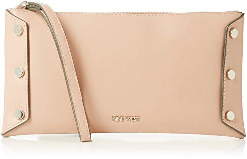 Nine West Womens Sheer Genius Wristlet Sm Wristlet New Mauve/Hematite