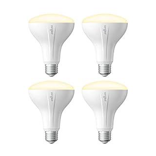 Sengled Smart Light Bulb, Smart Bulbs that work with Alexa, Google Home (Smart Hub Required), Smart Bulb BR30 Alexa Light Bulbs, 650LM Soft White (2700K), BR30 Dimmable, 9W (65W Equivalent), 4 Pack