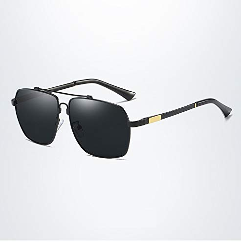 de Polarized Glasses Protección Rack Mirror Color Face Gafas 1 Round Tide 4 Sol Retro Memory UV400 Ruanyi People para Hombres Driving 8XBBpq