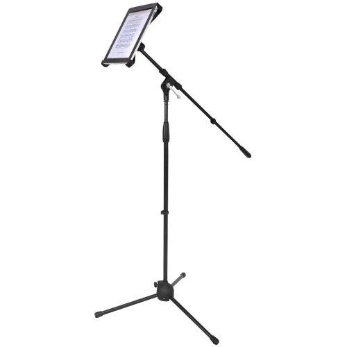 Pylepro Pmkspad1 マイクスタンド。 高さ6.5インチ x 幅4インチ。製品タイプ:アクセサリー/スタンド&キャビネット。 B00V5I008S