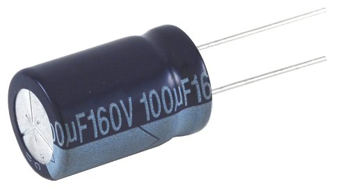 20/% Capacitance Tolerance NTE Electronics NEVH33M160DD Series Nevh Aluminum Electrolytic Capacitor 160V Inc. 33/Μf Capacitance Radial Lead