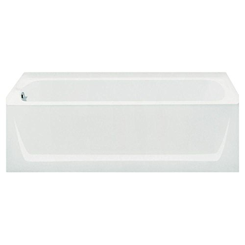 Sterling Plumbing 71121110-0 Ensemble Bathtub, 60-Inch x 32-Inch x 18-Inch, Left-Hand, White by Sterling Plumbing