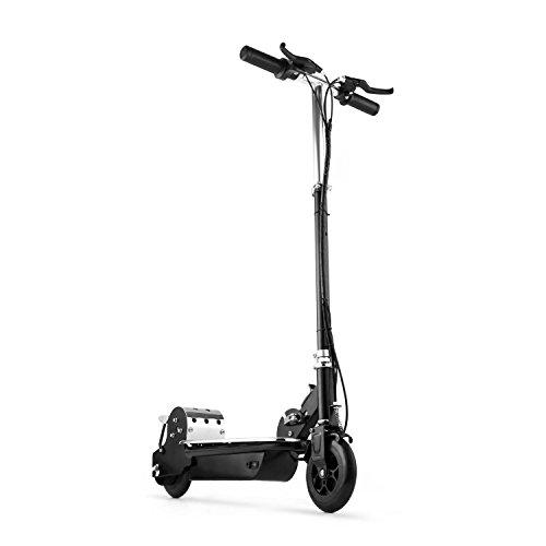 Electronic Star V8 E-Scooter Elektor-Scooter Kinder Roller elektrisch (120W Motor, 16 km/h Höchstgeschwindigkeit, Akku, 2 Bremsen hinten und vorne, zusammenklappbar) schwarz
