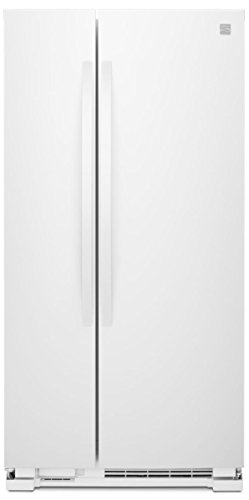 Kenmore 41132 21 cu. ft. Side-by-Side Refrigerator, White