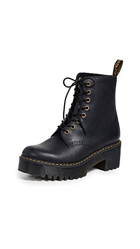 Dr. Martens Shriver Hi Fashion Boot, BLACK, US Women