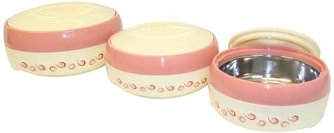 Cello Cuisine Insulated Casserole Hot Pot Food Server Warmer 3 Piece Gift Set (Cello Kitchen Sponges)